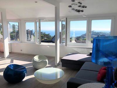 Photo for Very nice apartment completely renovated in 2018 with sea views in TREBEURDEN