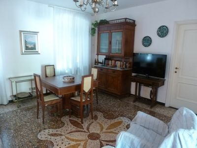 Photo for Large apartment, bright, Genoese style