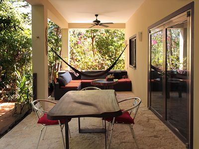 Photo for Top Unique Place 2 BR: wood design, jungle & pool in Tulum. Private, Airy & Safe