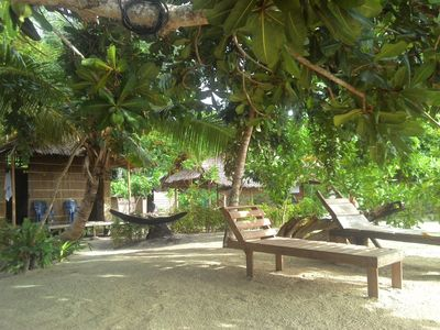 Photo for Our Bungalow Set In Front White Sandy Beach Integrated With The Jungle