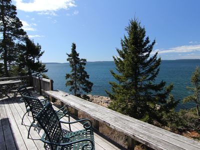 Photo for Paul's Cottage - Waterfront Cottage,  quiet side of MDI/Acadia in West Tremont