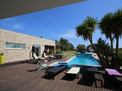 Photo for MODERN HOUSE on the road from Cap Espichel to AZOIA-SESIMBRA