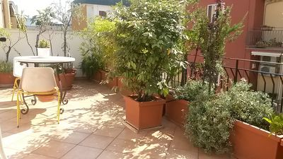 Photo for Terrace independent lovely penthouse apartament