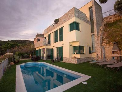 Photo for NEWLY ADDED - Modern luxury villa with astonishing sea view close to the beach,