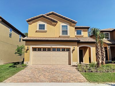 Photo for Nice Getaway-New 6BR House with themed room, pool, waterpark ,near Disney