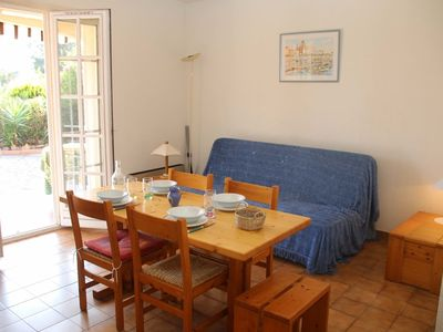Photo for French riviera Saint Raphael Agay 2 rooms terrace