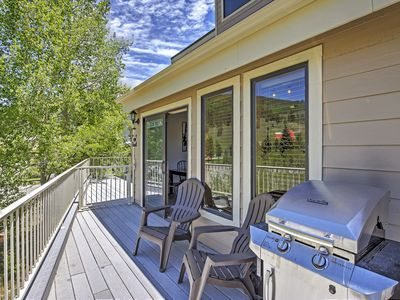 Photo for Perfect Copper Mountain Townhome w/ Private Patio!