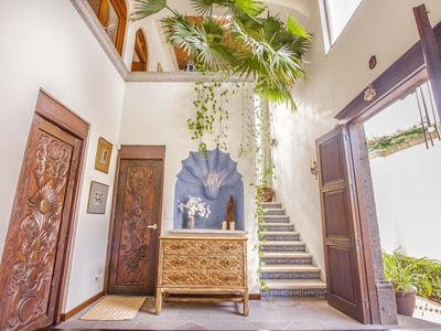 Photo for Amazing Mexican style villa with small roof top pool and amazing views.