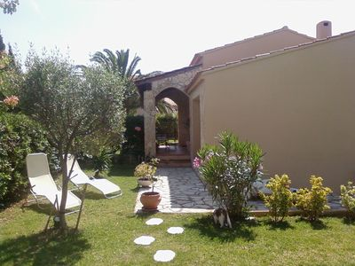 Photo for Detached villa with garden and pool