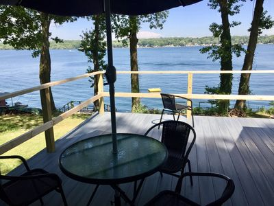 Photo for Remodeled Waterfront Cottage with Views of Little Sodus Bay and Lake Ontario