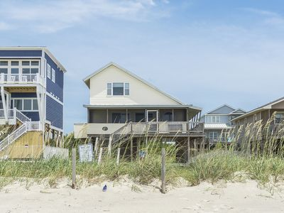 Photo for Another Beach Experience: 4 Bed/2 Bath Oceanfront Home