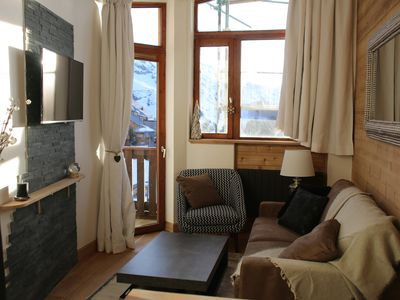 Photo for Avoriaz, charming apartment, 4 people, resort center