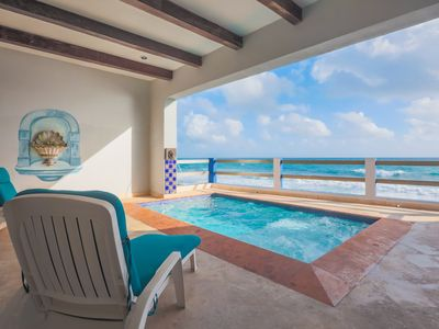 Photo for Luxury Oceanfront Retreat 4/4 Private Pool Downtown walk to North Beach