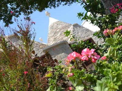 Photo for Cisternino-Trulli and Lamie: Grove in Valle D'Itria, accommodation 'La Quercia'