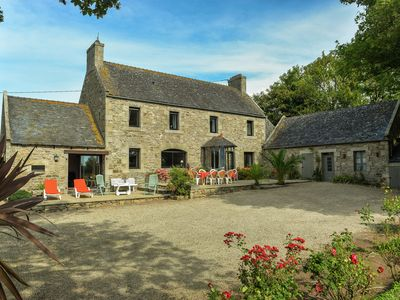Photo for Detached farmhouse with covered private swimming pool and beautiful, large garden