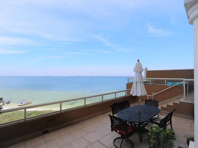 Photo for Enjoy one of the largest balcony terraces in a 2 bedroom at the Portofino
