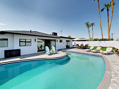 Photo for Gorgeous 3BR Mid Century Modern w/ Backyard Oasis - Minutes from Old Town