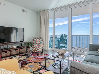 Photo for HAVE A BALL with Kaiser in San Carlos #1808: 2 BR/2 BA Condo in Gulf Shores Sleeps 6