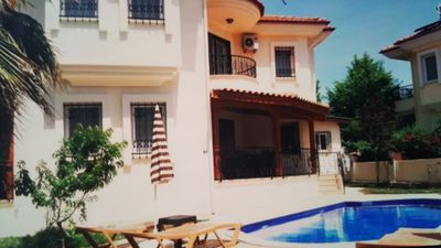 Photo for A beautiful villa to rent in Dalyan situated only 7 minutes walk to town centre