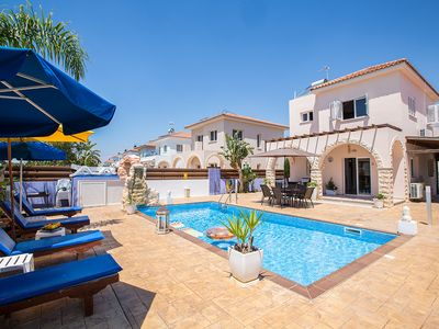Photo for Villa Ariana, Beautiful 2BDR Ayia Napa Villa with Private Pool, Close to Beach