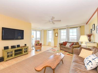 Photo for Roaring Sunset 230B- Gorgeous Bay Views-And right on the beach!