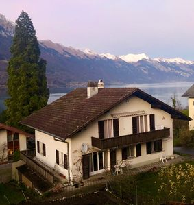 Photo for Spacious Apartment Overlooking Lake Brienz