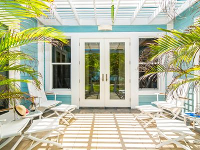 Photo for Papaya Cottage: 2-Bedroom Cottage on Oceanfront Micro-Resort 10 Minutes from Seven Mile Beach