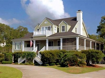 Photo for Spacious Lowcountry Home on Lagoon that overlooks a Hobcaw Nature Preserve