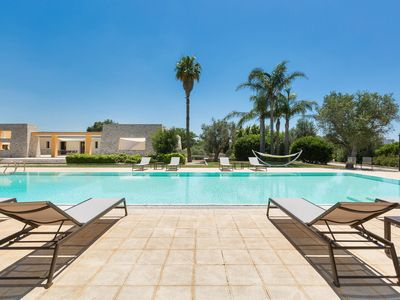 Photo for 6 bedroom Villa, sleeps 11 with Pool and Air Con