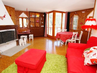 Photo for Bright apartment on the ski slopes, 8 beds. Ref 2049