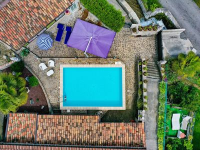 """Photo for Charming Apartment """"Residence Tatiana A2"""" with Pool, Terrace, Mountain View & Wi-Fi; Pets Allowed, Parking Available"""
