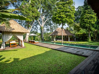 Have a nice traditional Balinese massage by the pool