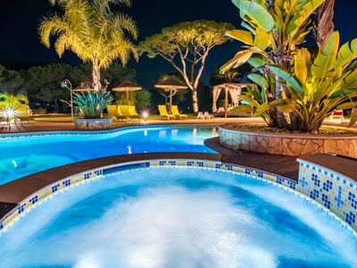 Photo for Villa Vilamoura Palace-Luxury Villa with Heated Pool, Cinema and BBQ Room