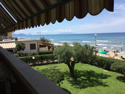 Photo for Fe. Where. facing the sea with sandy beach in San Vincenzo (Li) - Italy Tuscany-