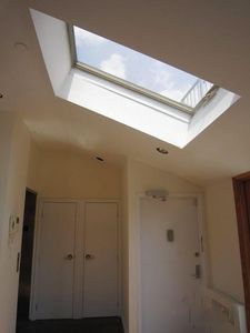 Entryway skylight
