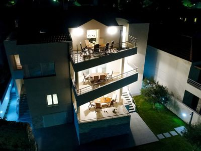 Photo for Modern Villa in Nin with Terrace