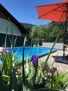 Photo for Family Friendly Boutique Chalet with private Pool near Nassfeld Skiing and Lake