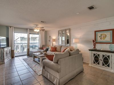 Photo for New Listing! Updated condo on Wolf Bay w/ shared pool, tennis, and boat launch!