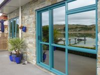 Modern, well equipped, clean and tidy. Great views and fulfilled all our requirements