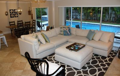 Photo for Beautiful Island Home Just A Few Minutes Walking Distance From The Beach