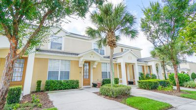 Welcome to Orlando Oasis, a 3 bed/3 bath townhome opposite the main resort pool!