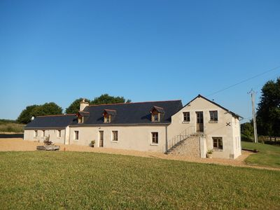Photo for Spacious renovated farmhouse in rural setting in Loire Valley