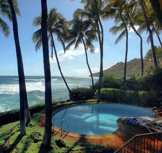 Photo for Diamondhead Oceanfront with POOL/rec room/open spaces/awesome ocean views