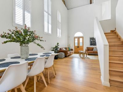 Photo for Amazing renovated church -now a  contemporary character home in Glenelg