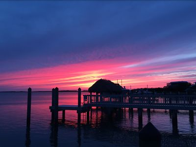 Photo for Home with Bay View & Gorgeous Sunsets