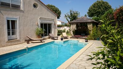 Photo for Villa with pool near the sea and Montpellier