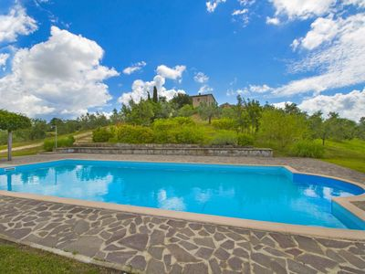 Photo for Lovely apartment in villa for 12 guests with pool, TV and parking