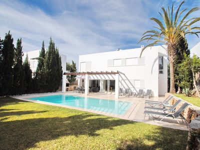 Photo for This modern contemporary Villa stands in its own gated grounds in a quiet area.