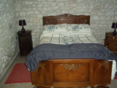 cool, Quercy stone bedroom