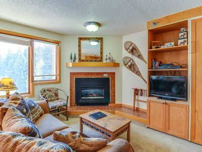 Photo for Ski-in/Ski-out studio condo w/ balcony & shared pool - year-round activities
